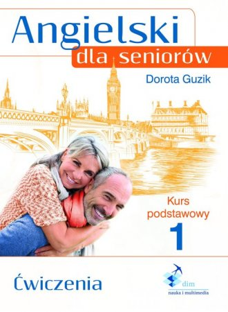 Angielski dla seniorów. Kurs podstawowy - okładka podręcznika