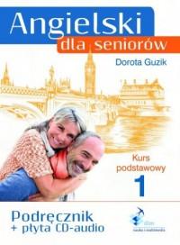 Angielski dla seniorów. Kurs podstawowy 1 - okładka podręcznika