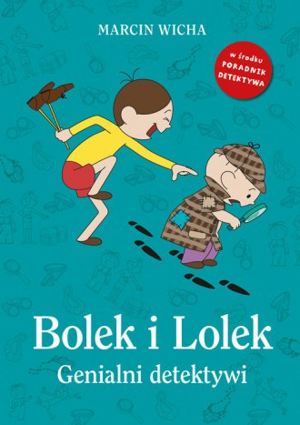 Bolek i Lolek. Genialni detektywi - okładka książki