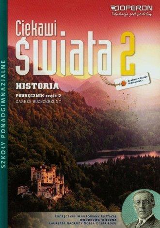 Ciekawi świata 2. Historia. Szkoła - okładka podręcznika