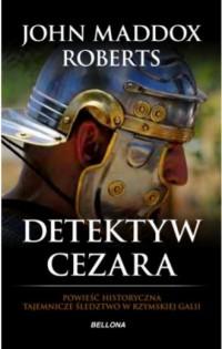 Detektyw Cezara - okładka książki