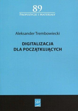 Digitalizacja dla początkujących. - okładka książki