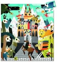 Fantastyczny zamek (puzzle) - zdjęcie zabawki, gry