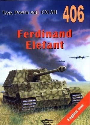 Ferdinand Elefant. Tank Power vol. - okładka książki