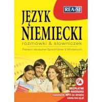 Język niemiecki. Rozmówki + słowniczek - okładka książki