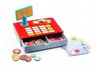 Kasa sklepowa + pieniążki - Wydawnictwo - zdjęcie zabawki, gry