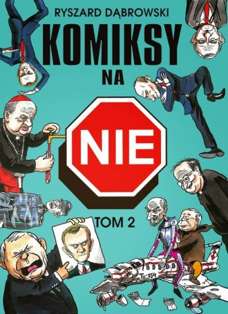 Komiksy na NIE. Tom 2 - okładka książki
