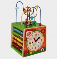 Kostka edukacyjna - zdjęcie zabawki, gry