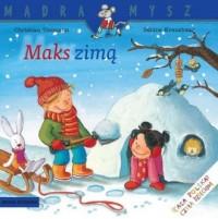 Maks zimą - okładka książki
