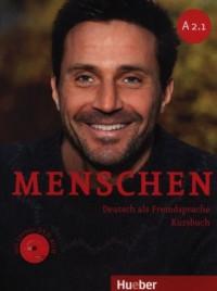 Menschen A2/1. Kursbuch (+ DVD) - okładka podręcznika
