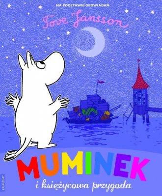 Muminek i księżycowa przygooda - okładka książki