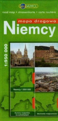 Niemcy - mapa drogowa - okładka książki