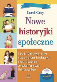 Nowe historyjki społeczne. Ponad - okładka książki