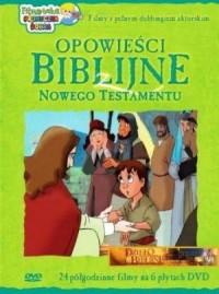 Opowieści Biblijne z Nowego Testamentu (6 płyt DVD) - okładka filmu