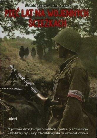 Pięć lat na wojennych ścieżkach - okładka książki