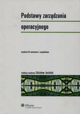 Podstawy zarządzania operacyjnego - okładka książki
