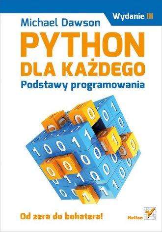 Python dla każdego. Podstawy programowania - okładka książki