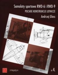 Samoloty sportowe RWD-6 i RWD-9 - okładka książki