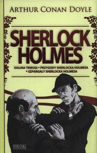 Sherlock Holmes. Dolina Trwogi. - okładka książki