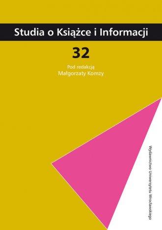 Studia o Książce i Informacji 32/2013 - okładka książki
