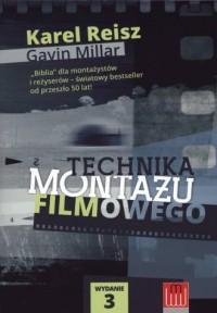 Technika montażu filmowego - okładka książki