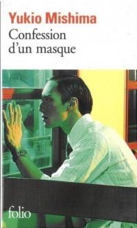 Confession dun masque - okładka książki