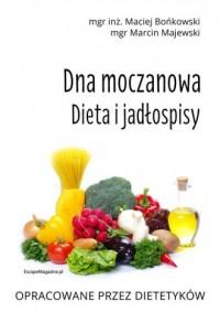 Dna moczanowa. Dieta i jadłospisy - okładka książki