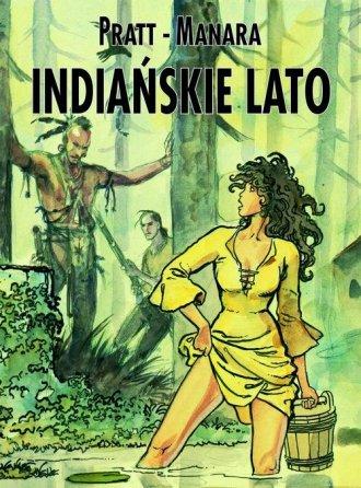 Indiańskie lato - okładka książki