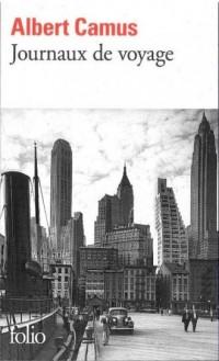 Journaux de voyage - okładka książki