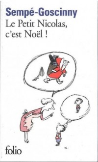 Le Petit Nicolas, cest Noël! - okładka książki