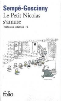 Le petit Nicolas samuse - okładka książki