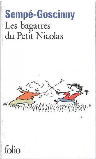 Les bagarres du Petit Nicolas - okładka książki