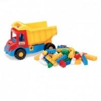 Multi Truck. Wywrotka z klockami - zdjęcie zabawki, gry