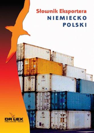 Niemiecko-polski słownik eksportera - okładka książki