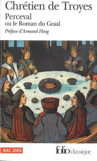 Perceval ou le Roman du Graal - okładka książki