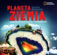 Planeta Ziemia.  Geologia dla dzieci i młodzieży - okładka książki