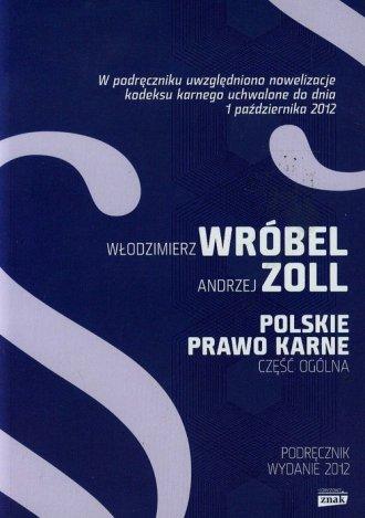 Polskie prawo karne. Część ogólna - okładka książki