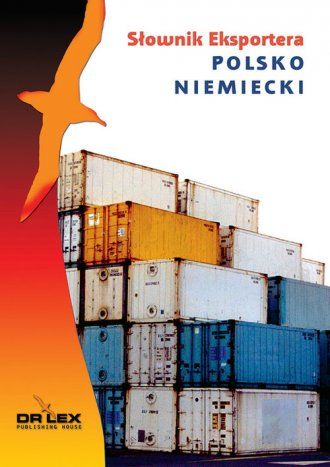 Polsko-niemiecki słownik eksportera - okładka książki