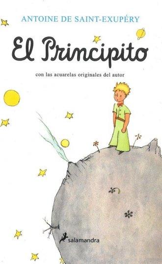 Principito. Mały Książę - wersja - okładka książki