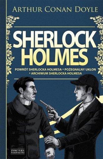 Sherlock Holmes. Powrót Sherlocka - okładka książki