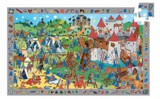 Zamek rycerza (puzzle 54-elem.) - zdjęcie zabawki, gry