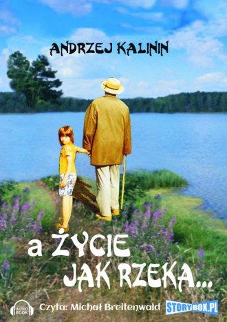 A życie jak rzeka - pudełko audiobooku