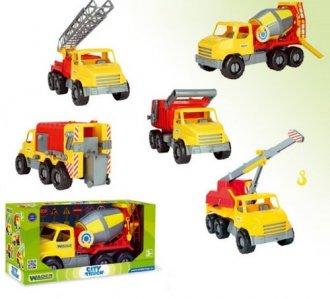 City Truck. Dźwig - zdjęcie zabawki, gry
