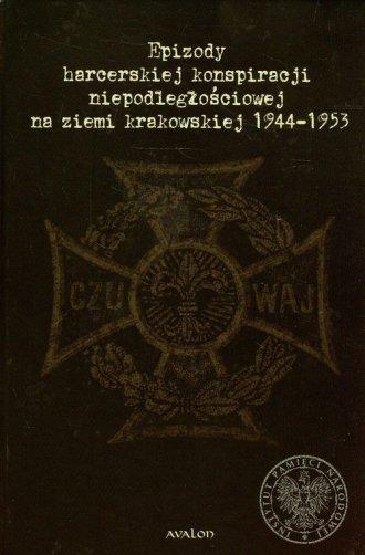Epizody harcerskiej konspiracji - okładka książki