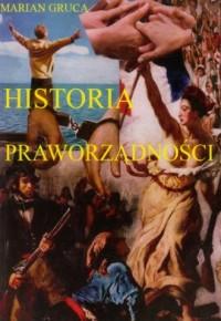 Historia praworządności - okładka książki