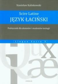 Język łaciński. Podręcznik dla alumnów i studentów teologii - okładka książki