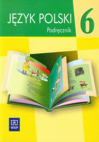 Język polski 6. Szkoła podstawowa - okładka podręcznika