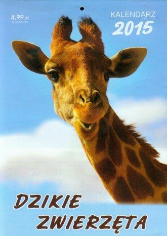 Kalendarz 2015. Dzikie zwierzęta - okładka książki