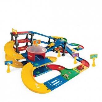 Kid Cars 3D. Multi parking z trasą - zdjęcie zabawki, gry