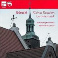 Kleines Requiem / Lerchenmu, Gorecki - okładka płyty